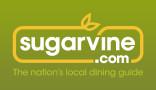 sugarvine logo green gradient background